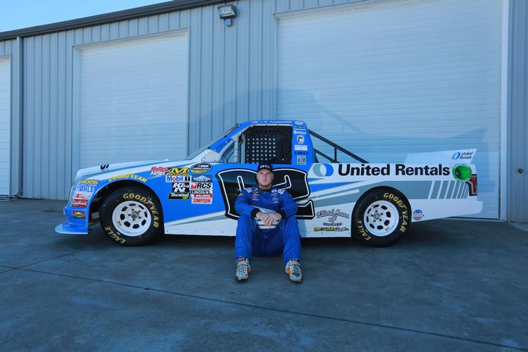 United Rentals Partners with Austin Hill Racing in the NASCAR Camping World Truck Series