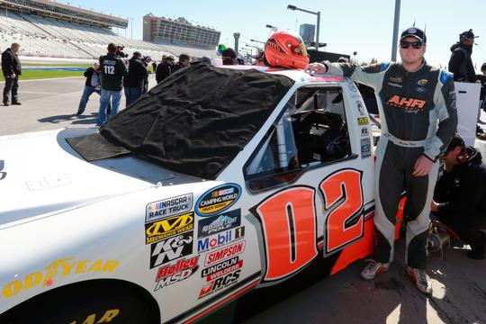 Austin Hill finished 18th in the NASCAR Camping World Truck Series race at Kentucky Speedway