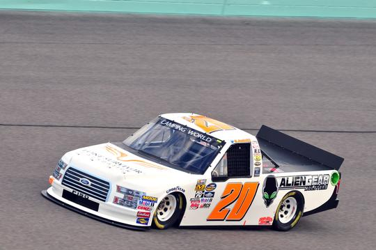Austin Hill, No. 20 Lone Survivor Foundation Ford F-150 Race Notes and Quotes